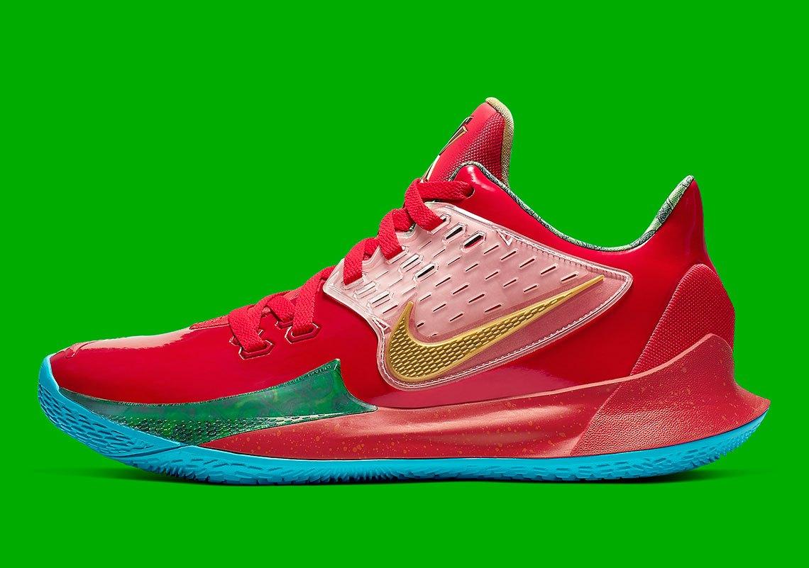 Nike Kyrie Low 2 'Mr  Krabs'   Analykix