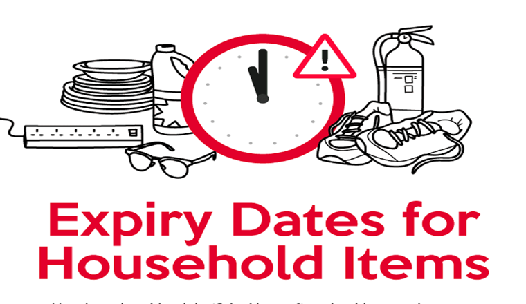 Just How Often Should You Replace These Household Items #infographic