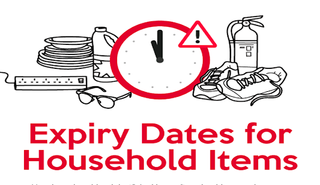 Just How Often Should You Replace These Household Items? #infographic