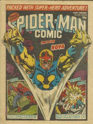 Spider-Man Comic #328, Nova