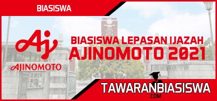 Tawaran Biasiswa Lepasan Ijazah Ajinomoto (Masters) ASEAN+ONE 2021