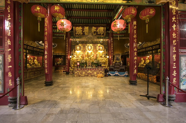 Tempio Wat Mangkok Kamalawat-Chinatown-Bangkok
