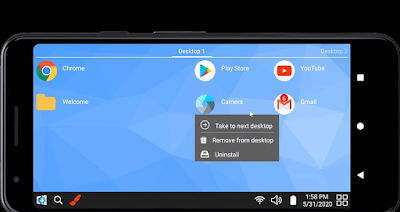 Win-X Launcher Android App