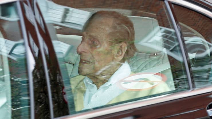 Buckingham Palace announces the death of Prince Philip, Queen Elizabeth's husband