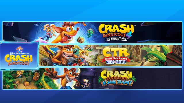 Crash Bandicoot ganha duas coletâneas no Switch