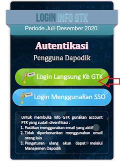 SKTP di Info GTK sudah terbit kah? Berikut Cara Cek Info GTK Semester 2 Tahun 2020
