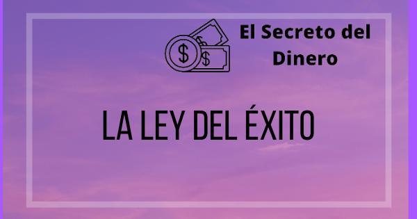 🥇 La Ley del Exito [The Law of Success]🥇