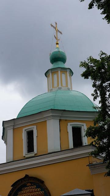 На фото изображён купол храма