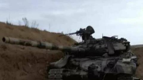 Now Armenia blows up T-90S tank, heavy damage to Azerbaijan's army