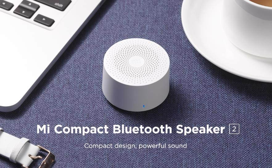 Xiaomi Mi 2 Compact Bluetooth Speaker, small and cheap