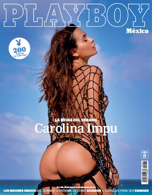 Carolina Impu Playboy Mexico Junio 2019 [Damaris Rojas] [FOTOS+PDF]