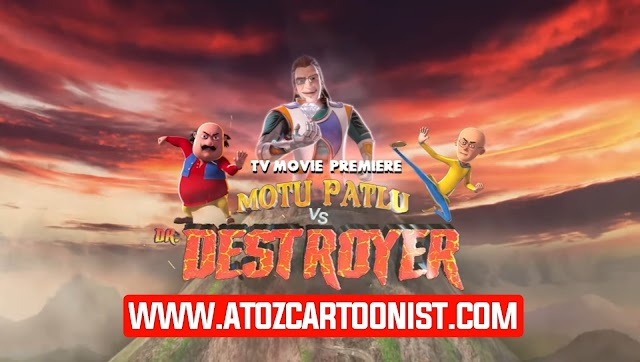 MOTU PATLU VS DOCTOR DESTROYER FULL MOVIE IN HINDI, TAMIL, TELUGU, DOWNLOAD (480P, 720P, 1080P)