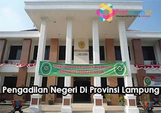 Pengadilan Negeri Di Provinsi bandar Lampung