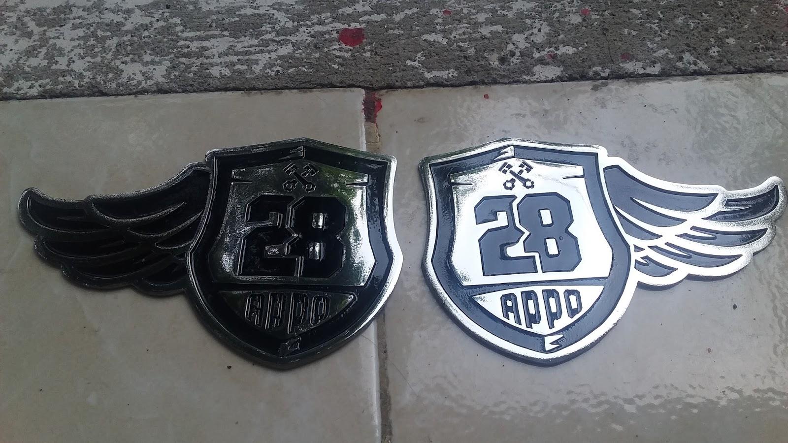 Emblem logo 2d sheild 28 oppo
