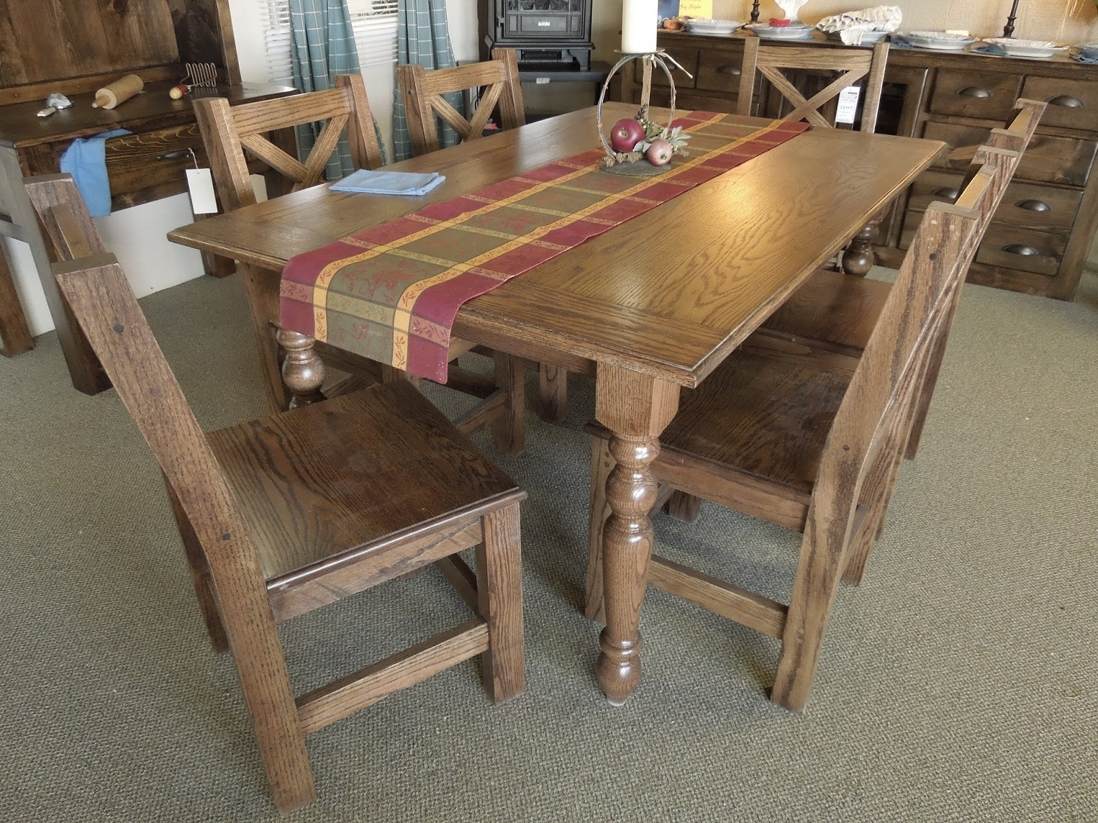Check out These Oak Farmhouse Dining Table for your house : red oak dining table featuring country table legs osborne wood throughout oak farmhouse dining table from www.artsdomicile.com size 1600 x 1200 jpeg 585kB