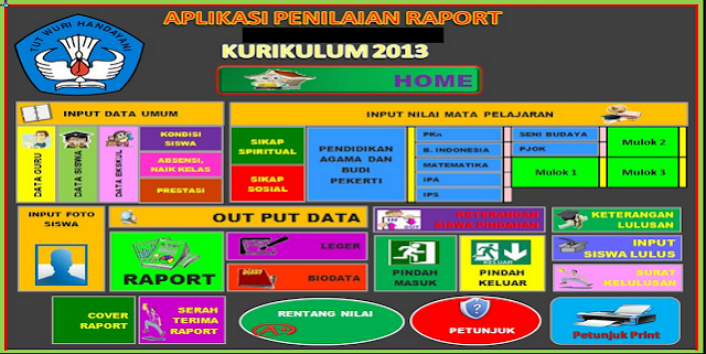 Download Aplikasi Raport Otomatis