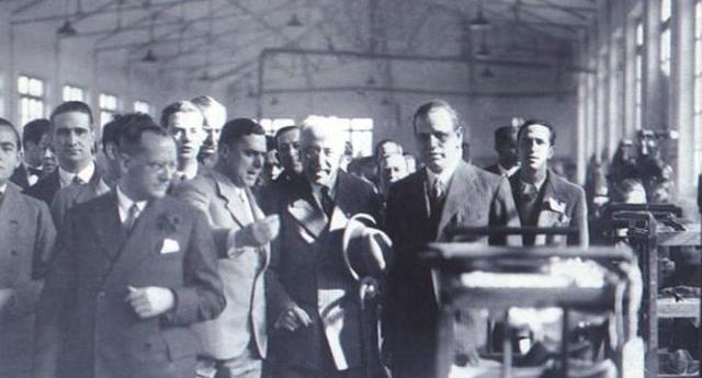 La visita del presidente de la República Niceto Alcalá-Zamora a Elda