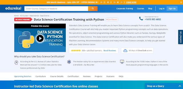 Edureka,Python,Data Science,