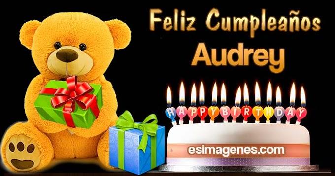 Feliz Cumpleaños Audrey