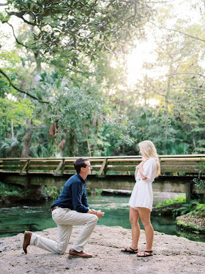 groom proposes to bride