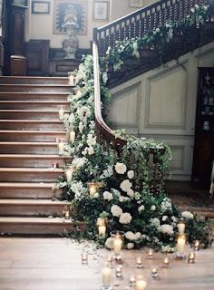 Decoración de Escaleras de Ensueño para Bodas