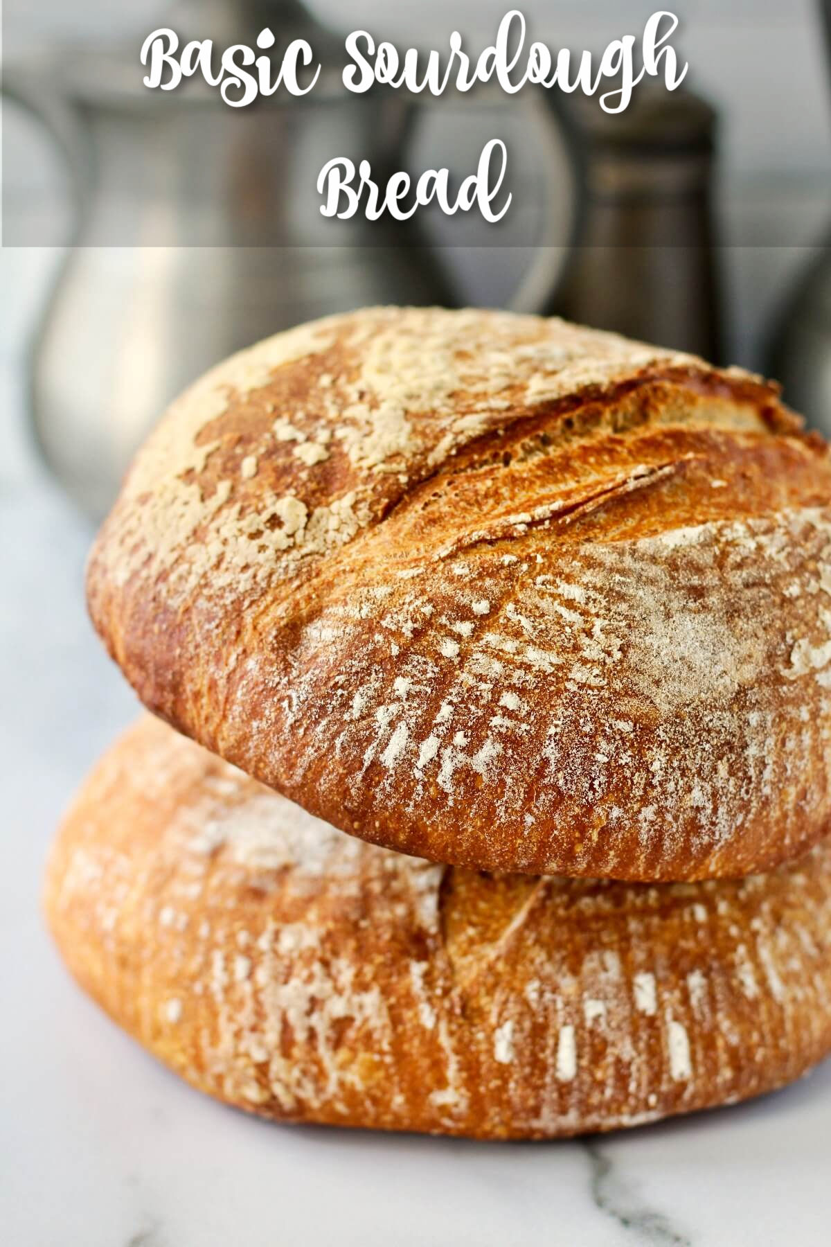 Basic Sourdough Bread for Beginners Recipe