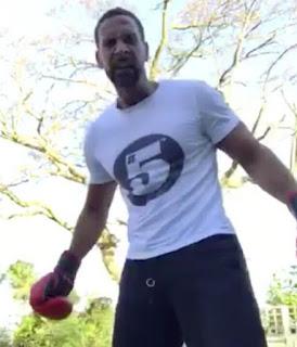 Former Manchester United footballer Rio Ferdinand becomes boxer