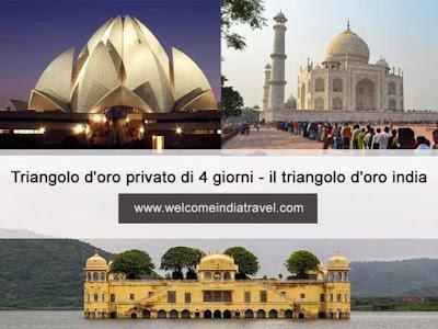 Tour indiano del triangolo dorato di 3 giorni