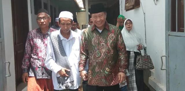 Di Jatim, Humprey Djemat Minta Dukungan Ulama untuk Caleg PPP dan Prabowo-Sandi