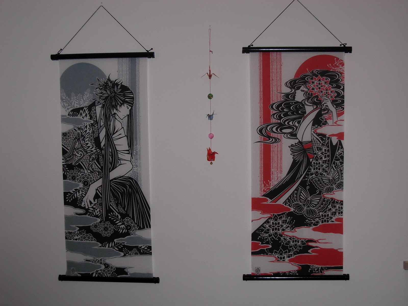 yokos yume e akinai teli da parete son soggetti stile manga