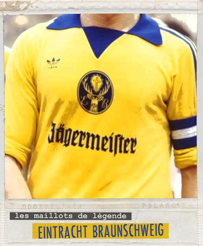 MAILLOT DE LEGENDE. Eintracht Braunschweig.
