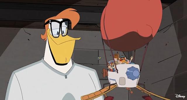 《救難小英雄》(Chip 'n Dale Rescue Rangers)成員 客串現身第三季《新唐老鴨俱樂部》(DuckTales)