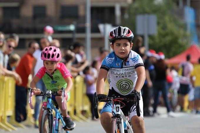 Pinto se convirtió en una gran fiesta del ciclismo formativo