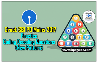 Crack SBI PO Mains 2017: (Day-1) - Practice Coding Decoding Questions (Based on New Pattern) ~COMBO~