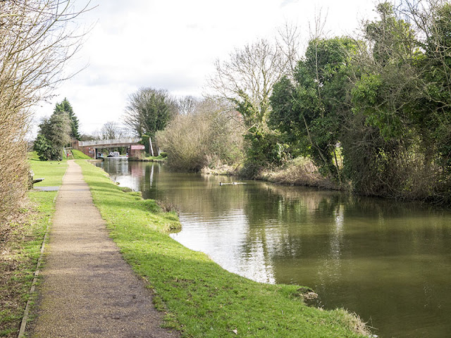 Grand Union Canal at New Bradwell