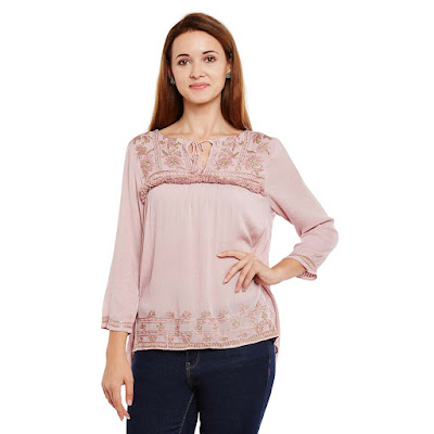 https://www.oxolloxo.com/pink-embroidered-long-sleeve-top-6494