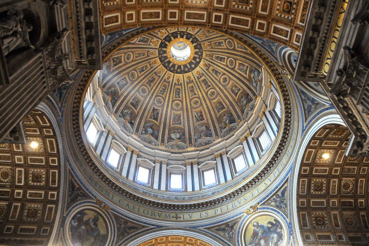 Resultado de imagen de basilica de san pedro cupula