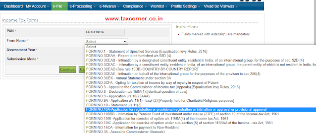 how-to-file-form-10a-for-approval-under-section-80g