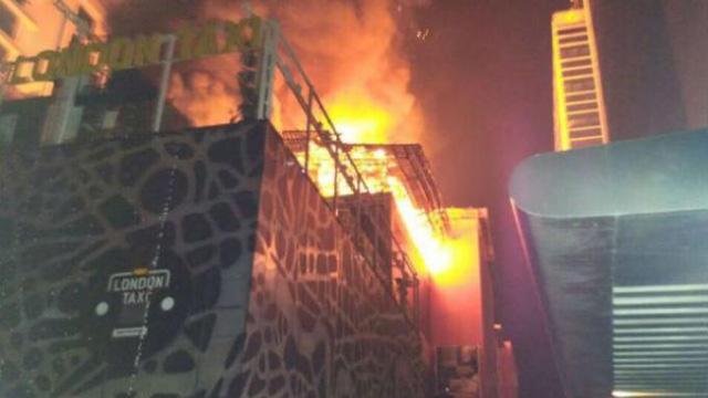 Pesta ulang tahun berujung kebakaran membunuh 14 nyawa