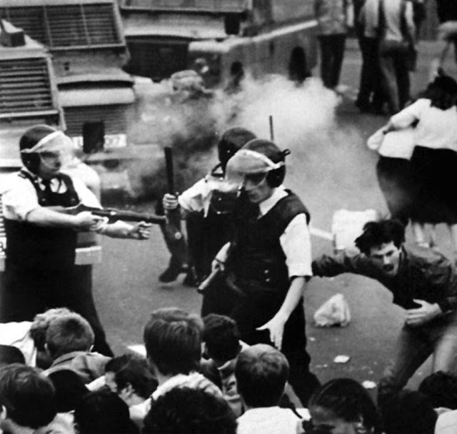 Killing of John Downes by RUC, Belfast, 1984