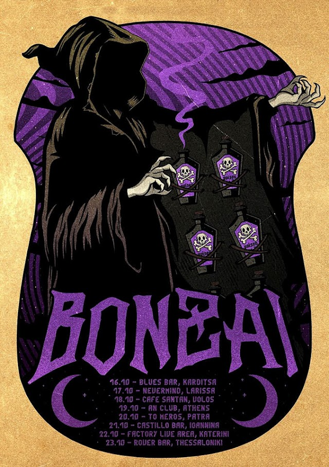 [News] Bonzai Greek tour [Oct.'19]