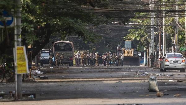 Myanmar Kembali Tembaki Demonstran Antikudeta, 13 Orang Tewas