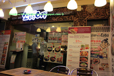 Korean restaurant, Tanjong Pagar Road, Singapore