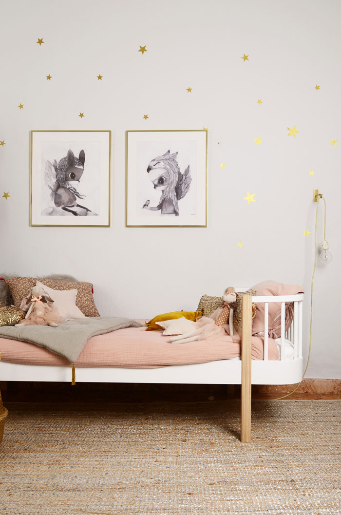 Blush Pink in children's rooms - Olivier Furniture