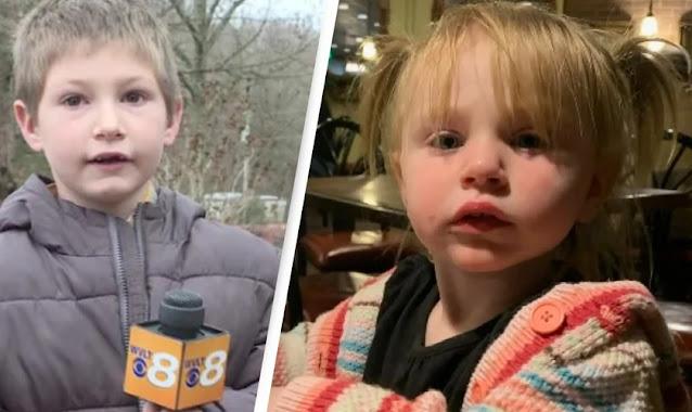 Garoto de 7 anos salva irmã mais nova de incêndio, após mãe ser 'acordada por Deus'