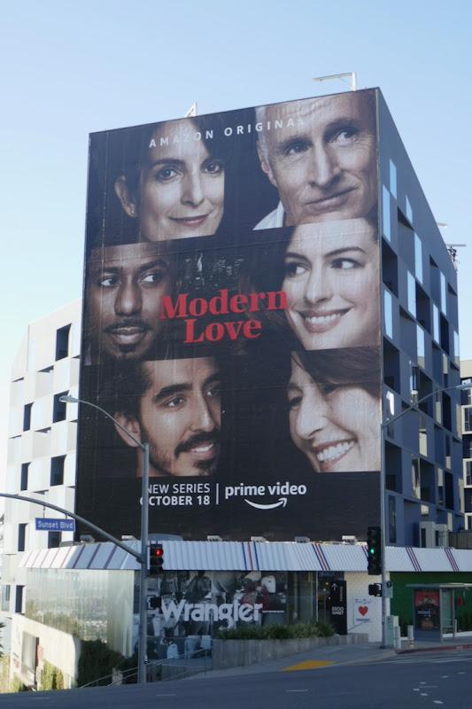 Giant Modern Love season 1 billboard