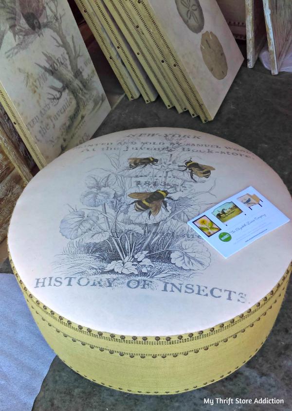 Bee ottoman