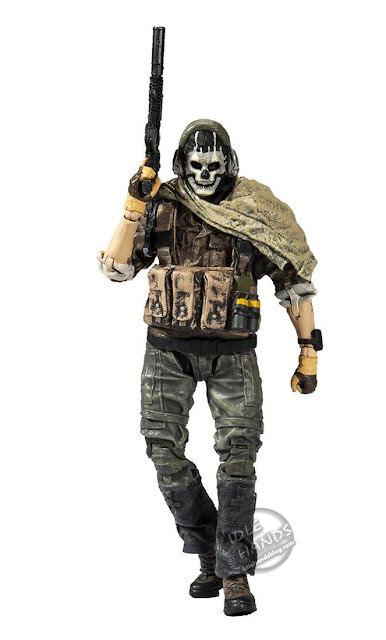 Toy Fair 2020 McFarlane Toys Call of Duty Modern Warfare Ghost Action Figure