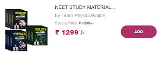 Physicswallah Study Material For NEET 2022