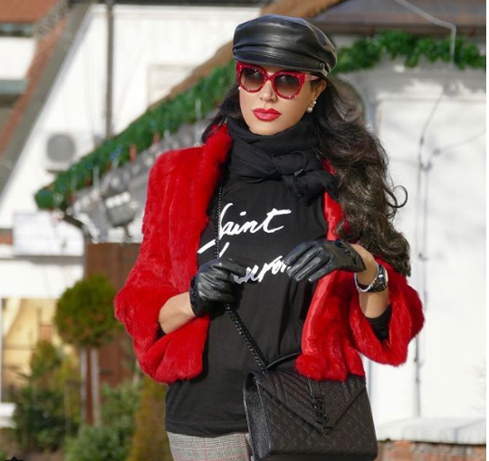 Express Yourself Italian Fashion Blogger Paola Laurentano Interview with A Stylish Love Story Blog